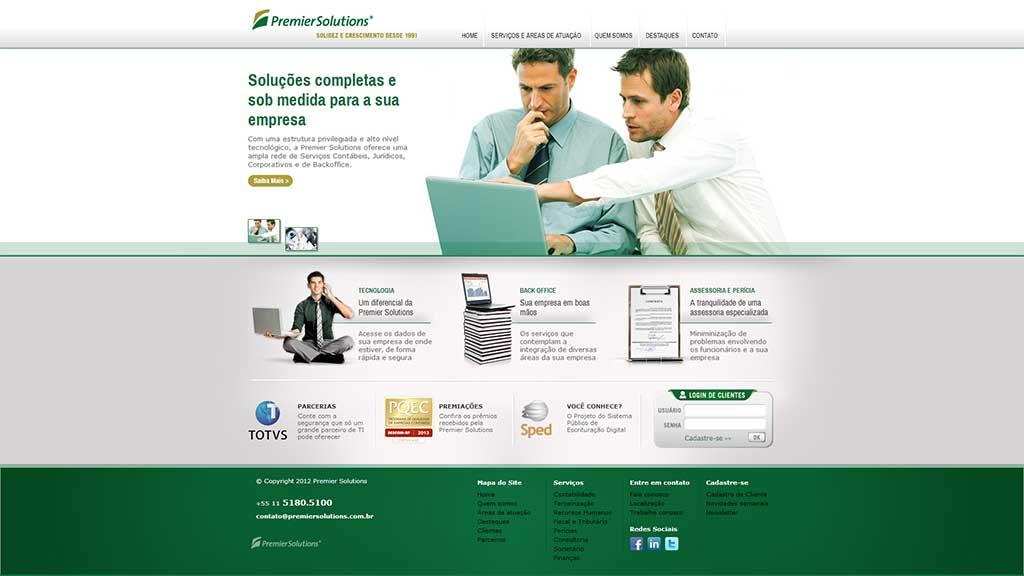 Desenvolvimento de sites de contabilidade