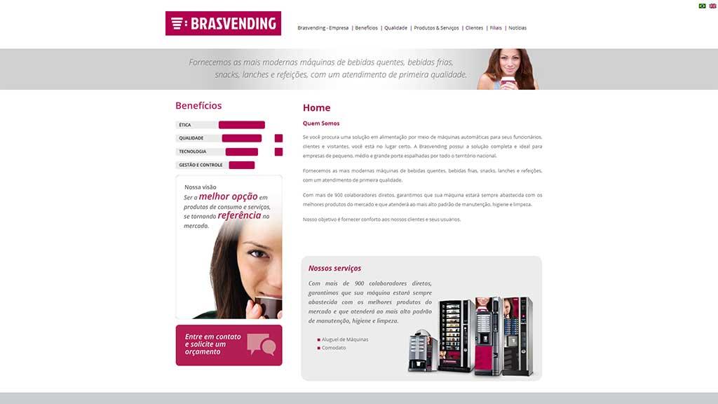 website empresa de vending machines