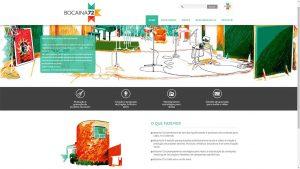 Desenvolvimento de Website de estúdio de gravação