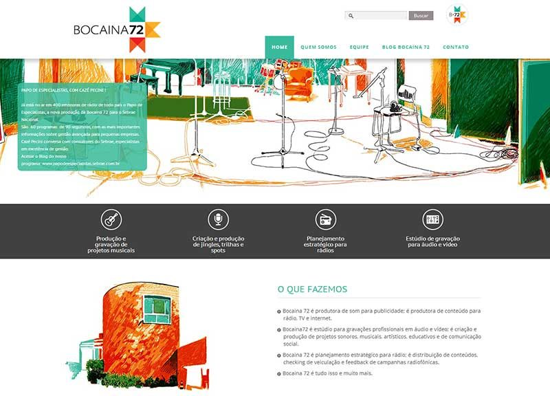 Website estúdio Bocaina 72